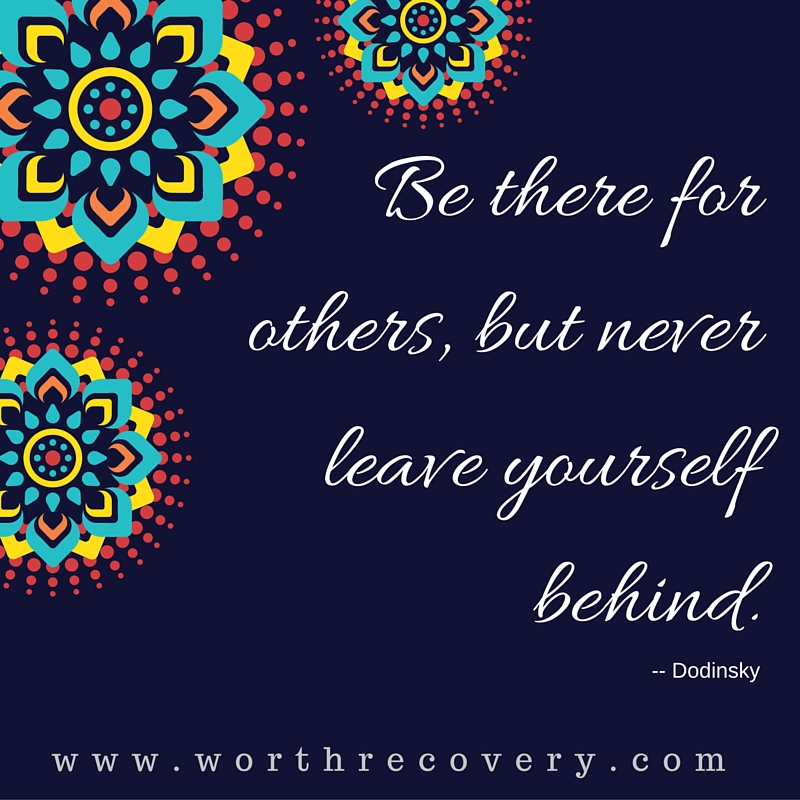 Never Leave Yourself Behind!