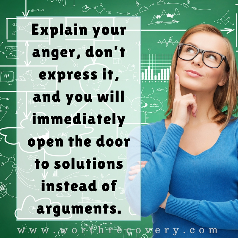 Explain Your Anger