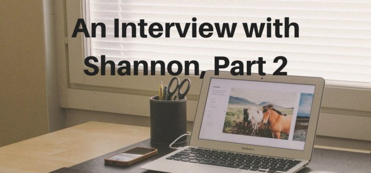 Episode 090: Women's Stories – An Interview with Shannon, Part 2